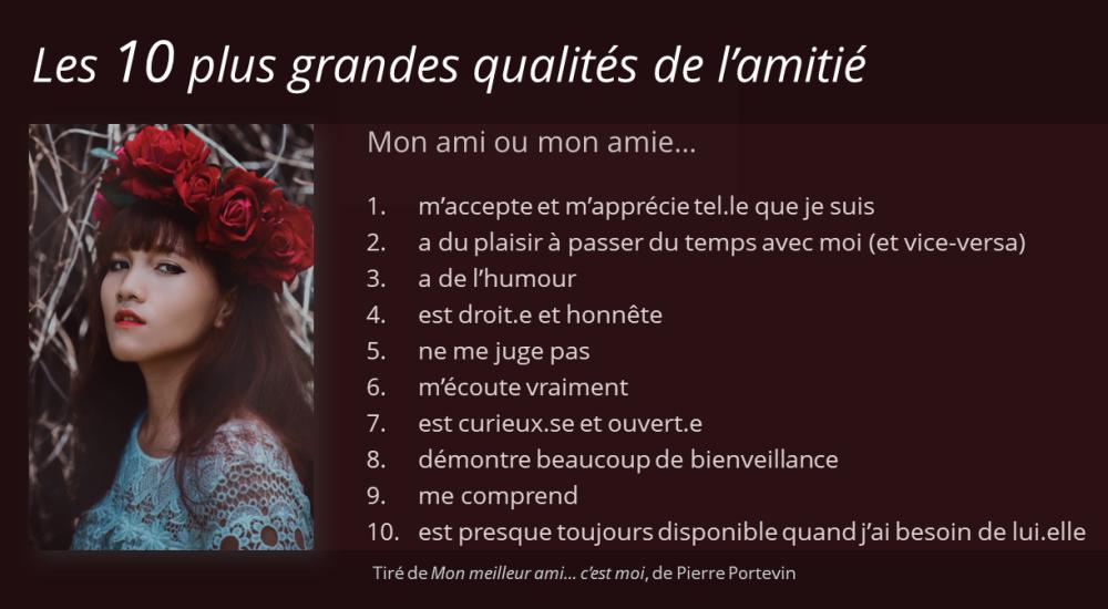 10 qualités
